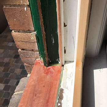 replacement window cill.